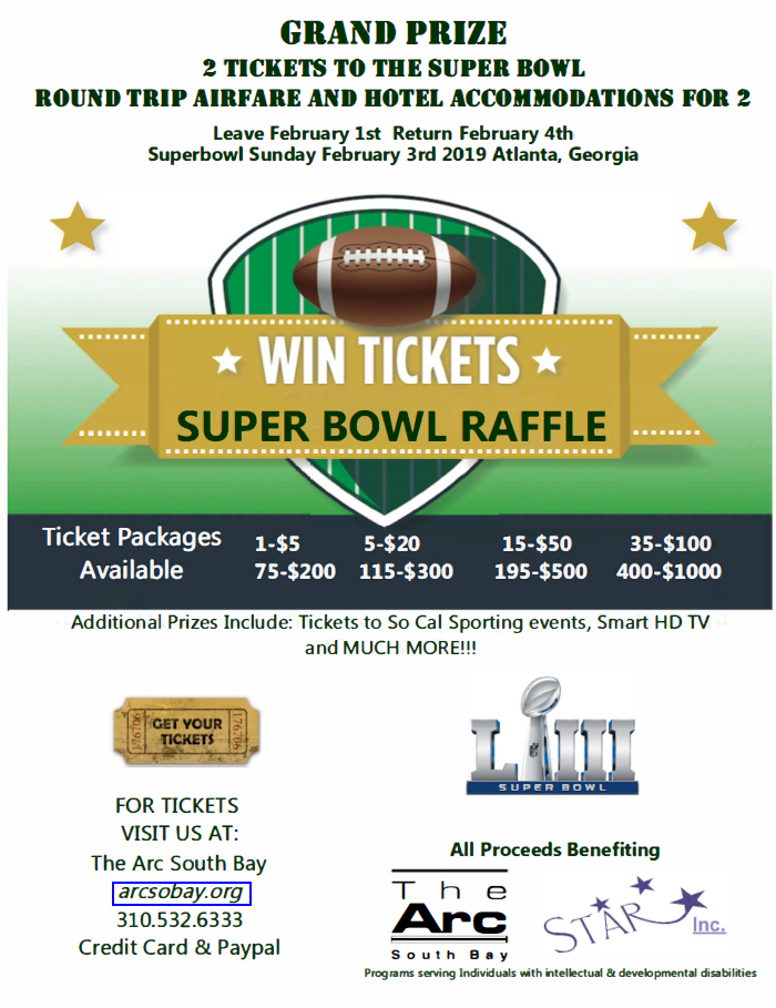Super Bowl Raffle